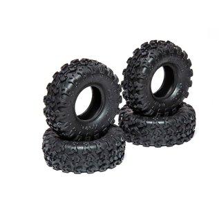 AXIAL RACING AXI 40003 1.0 Rock Lizards Tires (4pc) SCX24