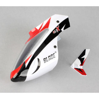 BLH BLH 3218  Complete White Canopy with Vertical Fin MSRX