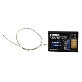 FUTABA FUT R2004GF R2004GF– 2.4 GHz S-FHSS 4-Channel Receiver