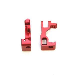 ST Racing Concepts ST 6832R ALUM FRT C-HUBS FOR SLASH 4X4 (RED) 1 PAIR