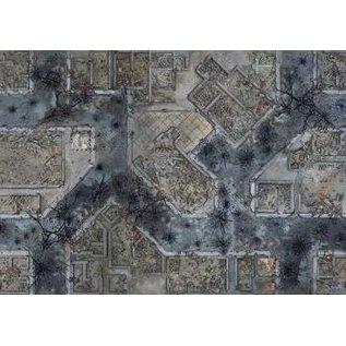 "CONQUEST CONQ 19552 Warzone City Mat 48"" x 72"" (KWG03-64)"