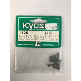 KYOSHO KYO 1125  M2.6 ASSORTMENT (M2.6X8,10,12,14)