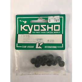KYOSHO KYO 1175 M4 FLANGED NUTS (10 PACK)