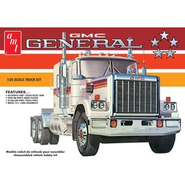 AMT AMT 1272 AMT 1976 GMC General Semi Tractor 1/25 Model Kit (Level 3)