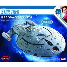 POLAR LIGHTS POL 980M Polar Lights Star Trek U.S.S. Voyager (Snap) 2T 1/1000 (Level 2)