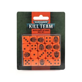 GAMES WORKSHOP WAR 99220105001 KILL TEAM DEATH KORPS OF KRIEG DICE SET