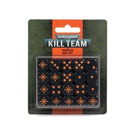GAMES WORKSHOP WAR 99220199090 KILL TEAM CHAOTICA DICE SET