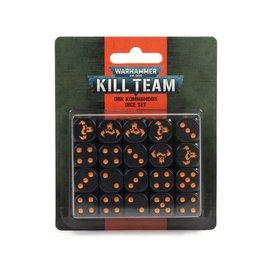 GAMES WORKSHOP WAR 99220103006 KILL TEAM ORK KOMMANDOS DICE SET