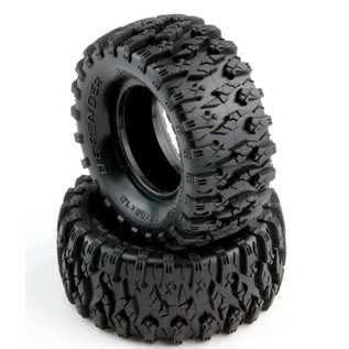 "Power Hobby PHB PHT3202 Defender 1.0"" Micro Crawler Tires, 1/24, w/ Foams"