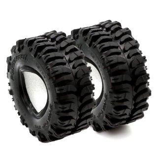 "Power Hobby PHB PHT3201 Swamp 24 1.0"" Micro Crawler Tires 1/24 Axial SCX24 C10 Jeep Betty"