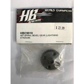 HPI RACING HBC C9010 43T SPIRAL BEVEL GEAR (LIGHTNING STADIUM)