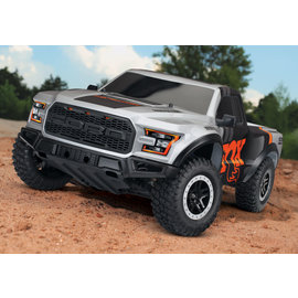TRAXXAS TRA 58094-1 Ford F-150 Raptor. Ready-To-Race® with TQ 2.4GHz radio system and XL-5 ESC (fwd/rev). Includes: 7-Cell NiMH 3000mAh Traxxas® battery.