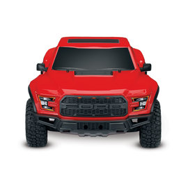TRAXXAS TRA 58094-1-RED Ford F-150 Raptor. Ready-To-Race® with TQ 2.4GHz radio system and XL-5 ESC (fwd/rev). Includes: 7-Cell NiMH 3000mAh Traxxas® battery.