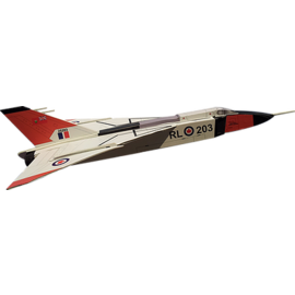 OSBORN MODEL KITS OSB 6043 CF-105 AVRO ARROW WOODEN SEMI SCALE MODEL KIT 1:66