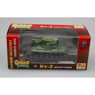 Easy Models EAS 36281 1/72 KV-2 Earl Russian Grn Tank PREASSEMBLED PLASTIC