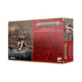 GAMES WORKSHOP WAR 99120209076 AOS ORRUK WARLCLANS MARSHCRAWLA SLOGGOTH