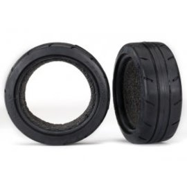 TRAXXAS TRA 8369 Tires, Response 1.9' Touring (front) (2)/ foam inserts (2)