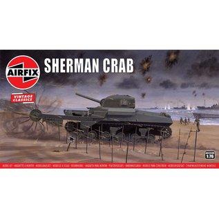 AIRFIX AIR 02320V SHERMAN CRAB TANK 1/76 MODEL KIT