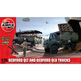AIRFIX AIR A03306 Bedford QLT & Bedford QLD Trucks PLASTIC MODEL
