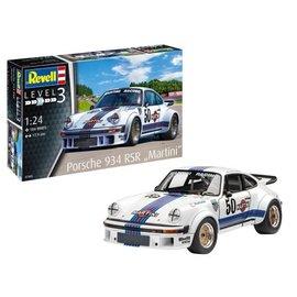 REVELL GERMANY REV 07685 1/24 Porsche 934 RSR Martini PLASTIC MODEL