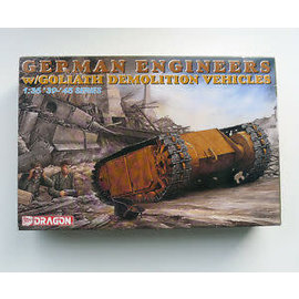 DRAGON MODELS DRA 6103 GERMAN ENGINEER w goliath demolition vehicle 1/35