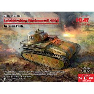ICM 35330 GERMAN TANK 1/35 1930 LEICHTTRAKTOR