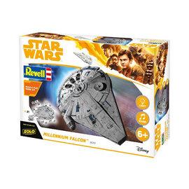 REVELL USA RMX 851678 1/164 Lando's Millenium Falcon Star Wars Snap Tite