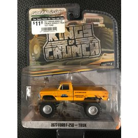 GREENLIGHT COLLECTABLES GLC 49050B KINGS OF CRUNCH SERIES 5 TRUK 1977 FORD F250 1/64 DIECAST