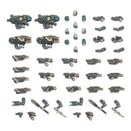GAMES WORKSHOP WAR 99120599033 NECROMUNDA VAN SAAR WEAPONS & UPGRADES