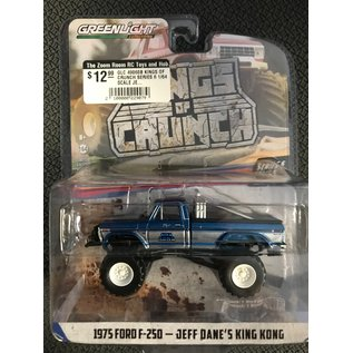 GREENLIGHT COLLECTABLES GLC 49060B KINGS OF CRUNCH SERIES 6 1/64 SCALE JEFF DANES KING KONG 1975 FORD F-250