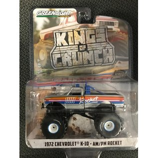 GREENLIGHT COLLECTABLES GLC 49060A KINGS OF CRUNCH SERIES 6 1/64 SCALE 1972 CHEVROLET K-10 AM/PM ROCKET