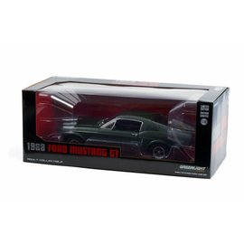 GREENLIGHT COLLECTABLES GLC 13615 1968 Ford Mustang GT (HIGHLAND GREEN) 1/18 DIECAST