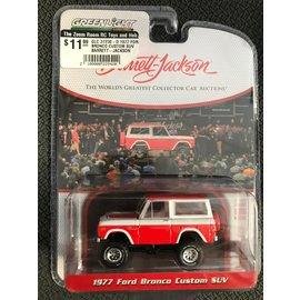 GREENLIGHT COLLECTABLES GLC 37230-D 1977 FORD BRONCO CUSTOM SUV BARRETT-JACKSON