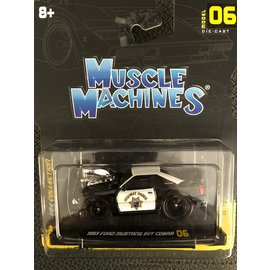 MAISTO MAI 15526 1993 FORD MUSTANG SVT COBRA MUSCLE MACHINES
