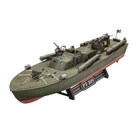 REVELL GERMANY REV 65147 PATROL TORPEDO BOAT PT-109 MODEL SET