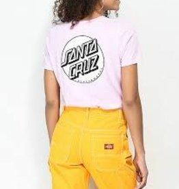 Santa Cruz Womens Tee Pink Dot