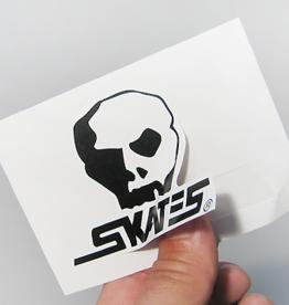 Skull Skates Logo Sticker