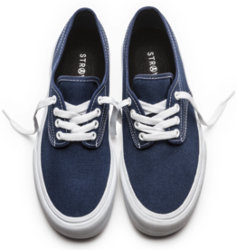 Straye Shoes Gower Navy/White