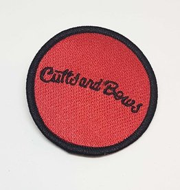 Cutts & Bows Embroidered Patch