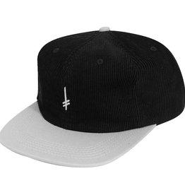 Deathwish Hat Snapback Corduroy Gang Logo Black