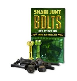 """Shake Junt OG Bolts 1"""" Allen Black/Green/Yellow"""