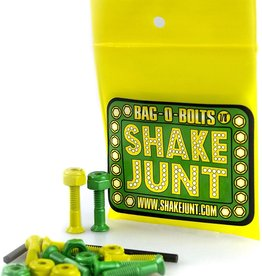 "Shake Junt Bolts 7/8"" Allen Green/Yellow"