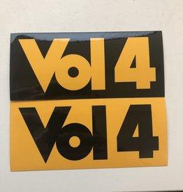 Volume 4 Sticker Logo