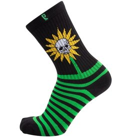 Psockadelic Socks Herman Skull Flower
