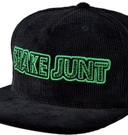 Shake Junt Snapback Hat Stretch Logo Black/Green