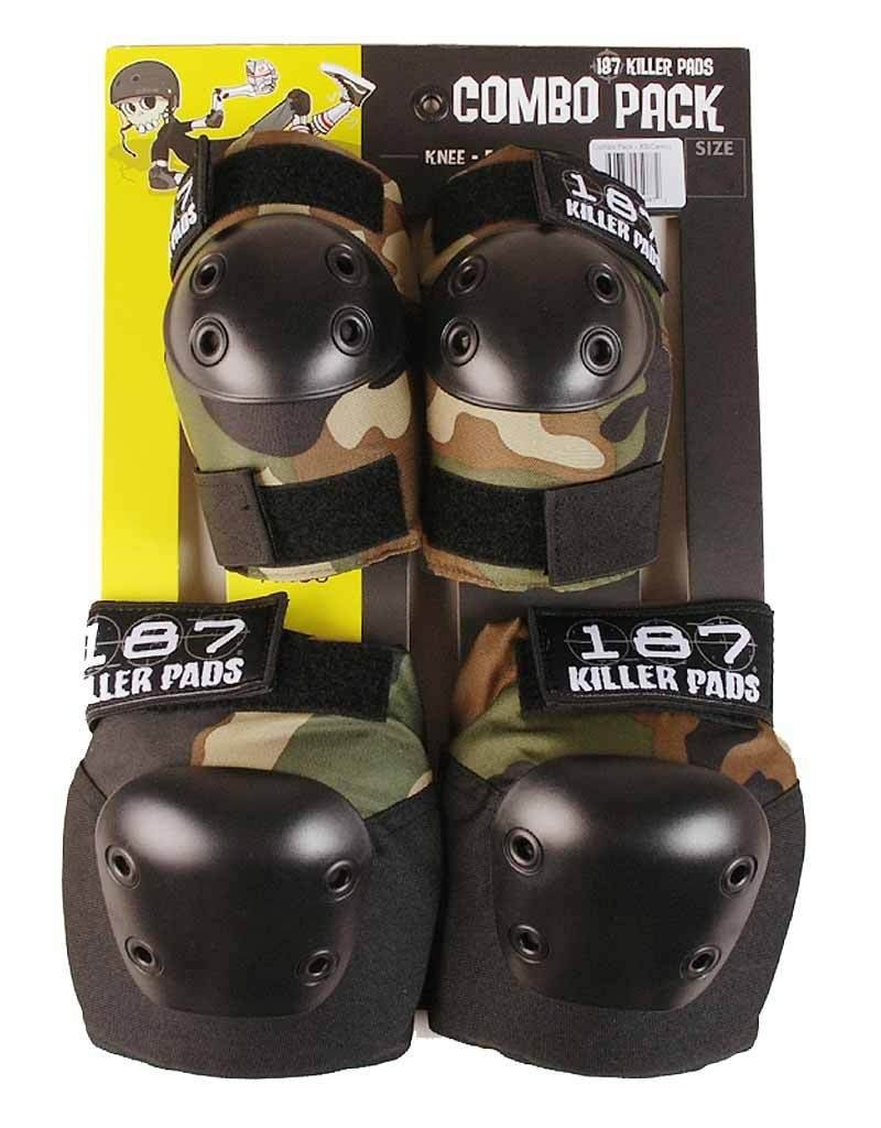 187 Killer Pads Combo Pack (Knees & Elbows)