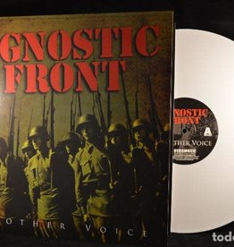 (SC) Agnostic Front - Another Voice (White)