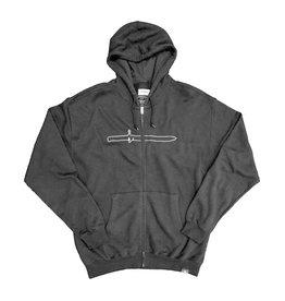 Altamont X BA. KU. Zip Up Hoodie