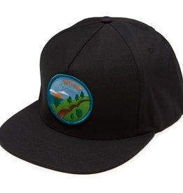 Skate Mental Don't Get Lost Hat Black