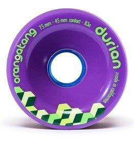 Orangatang Longboard Wheels Durian Purple 75mm 83A
